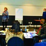 Lou Billett addresses Rrotary Leadership programme delegates