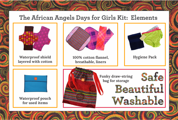 African Angels washable pad