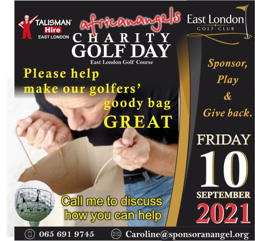 African Angels Charity Golf Day Goody bag